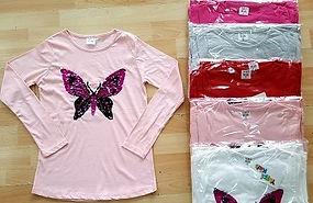 9,10,11,12 Years Girls Sequined Sweatshi