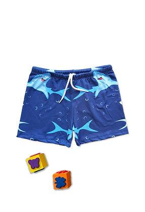 5 Pack Boys Swim Shorts (3y-12y) - £2.25