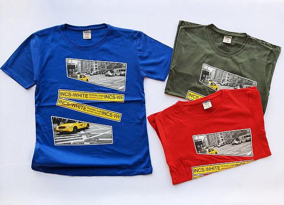 12 Pack Boys T-Shirt (9y-12y) - £1.70