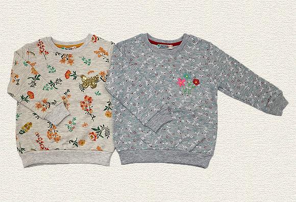 10 Pack Girls Sweatshirt (2y-6y) - Per item: £2.50