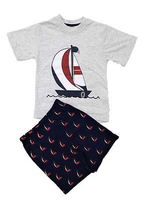 16x Boys T-Shirt/Short Sets (£2.80) - 4 Colours