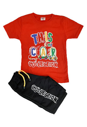 16x Boys T-Shirt/Short Sets - £2.90 per set
