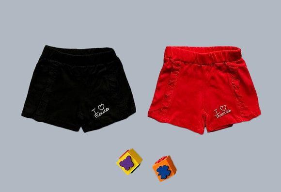 8 Pack Toddler Girls Short (0y-3y) - £1.45