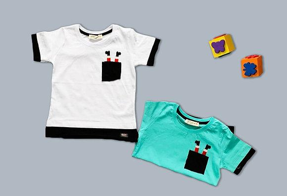 10 Pack Boys T-Shirt (3y-8y) - £1.70
