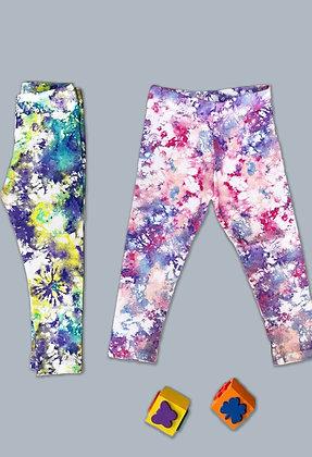 10 Pack Girls Legging (2y-7y) - £1.50