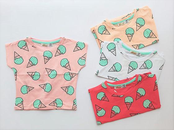 16x Toddler Girls T-Shirts (1y-4y) - £1.60