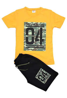 16x Boys T-Shirt/Short Sets - £3.00 Per Set