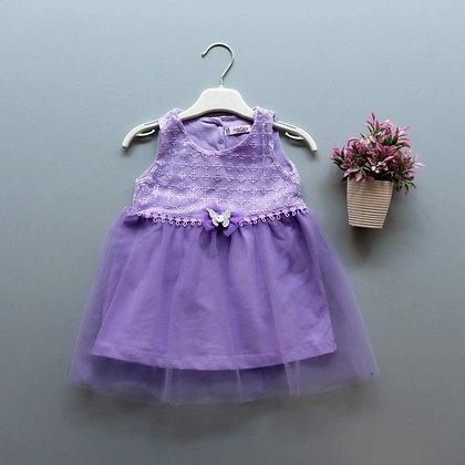 4 Pack Toddler Girls Dress (0y-3y) - £3.45