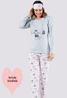 4x Ladies Cotton PJ Set (S-M-L-XL)