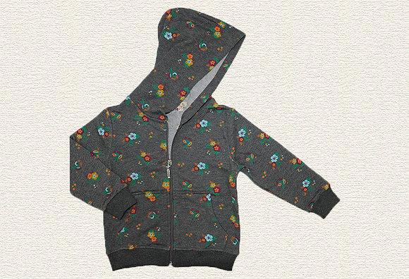 5 Pack Girls Pocketed Hoodie (2y-6y) - Per item: £3.15