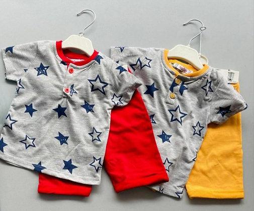 8 Pack Toddler Boys 2-Pcs Set (0y-3y) - £3.20
