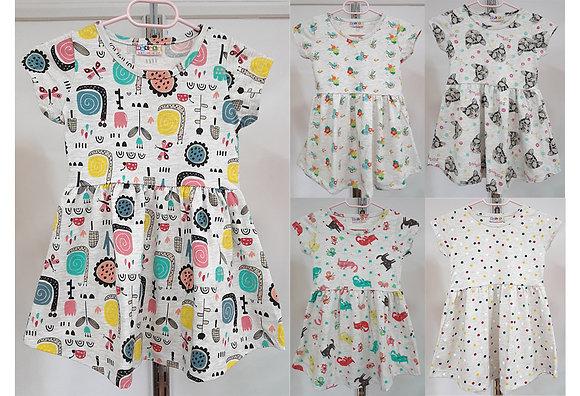 20x Girls Dresses (5 Designs) / £2.25 Per Item