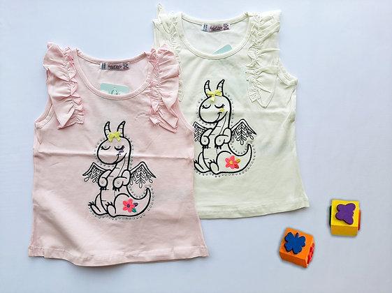 8 Pack Toddler Girls Top (0y-3y) - £1.90