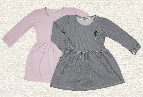 10 Pack Girls Dress (3y-7y) - Per item: £3.00