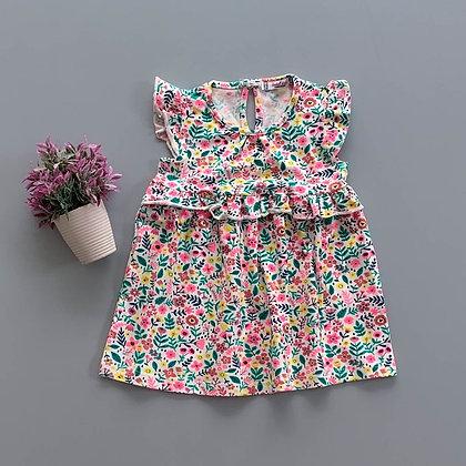 4 Pack Toddler Girls Dress (0y-3y) - £2.20
