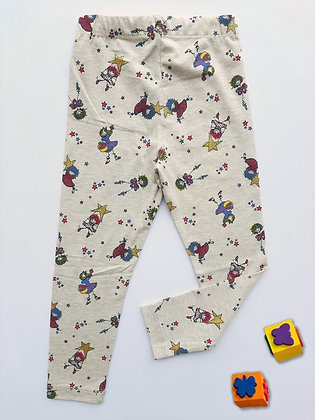 4 Pack Girls Legging (5y-8y) - £1.50