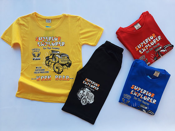12 Pack Boys 2 Pcs Set (5y-8y) - £3.00