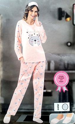 4x Ladies Fleece PJ Set (S-M-L-XL)