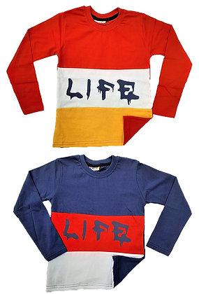 8 Pcs Boys Long Sleeve Shirt - £1.79 Per Item