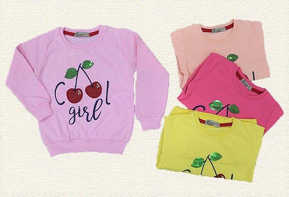 16 Pack Girls Sweatshirt (2y-8y) - Per item: £2.35