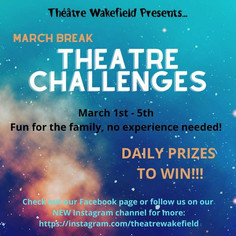 March Break Theatre Challenges