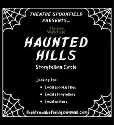 Haunted Hills storytelling circle