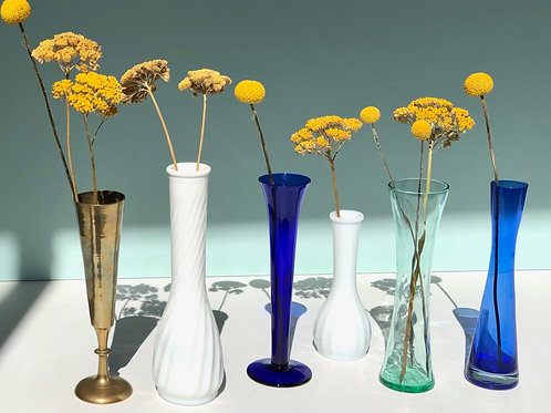 bud vase collection