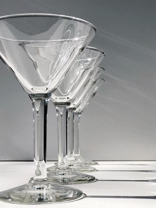 martini glasses (set of 4)