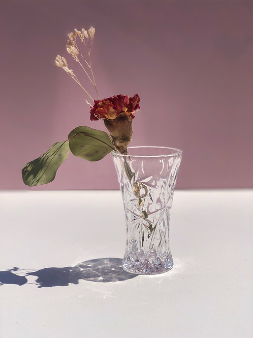 lenox crystal bud vase