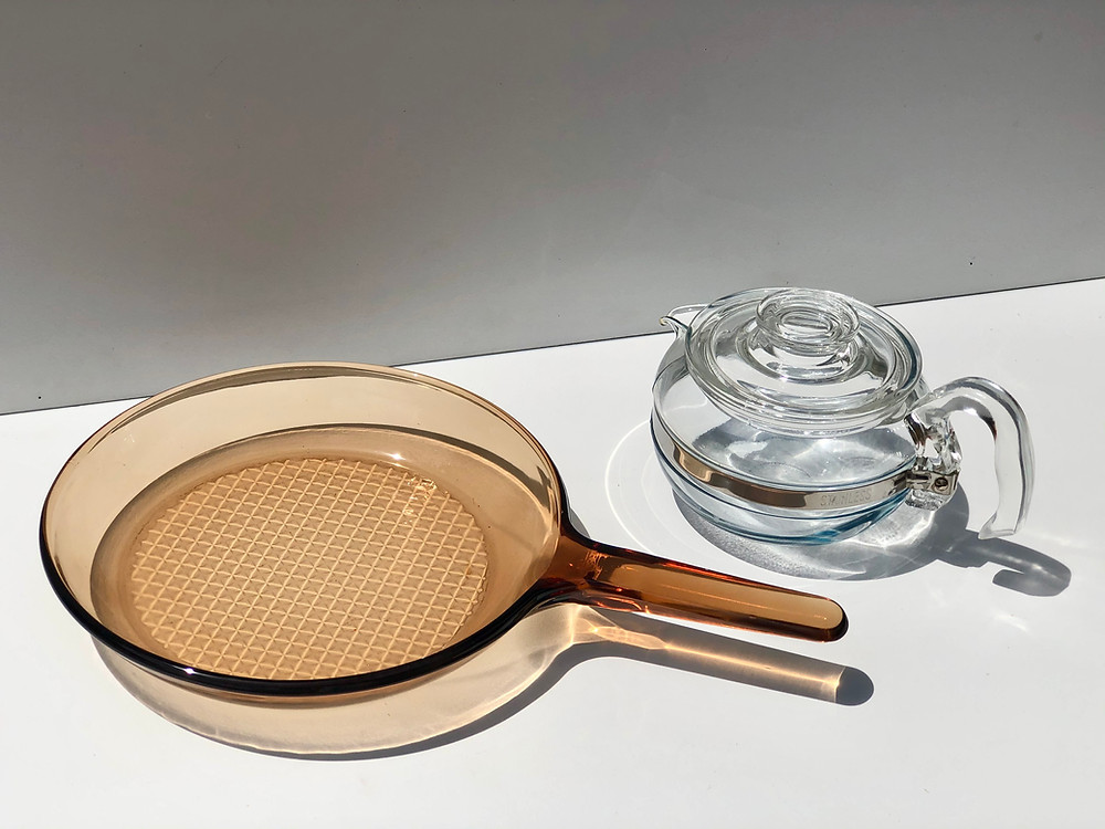 glass cookware pyrex corning visionware flameware