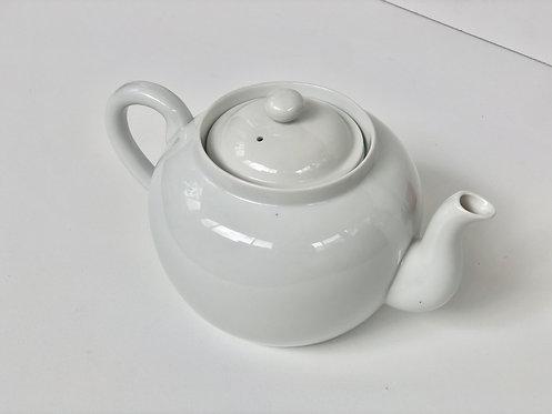 ceramic Japanese teapot with ceramic tea strainer