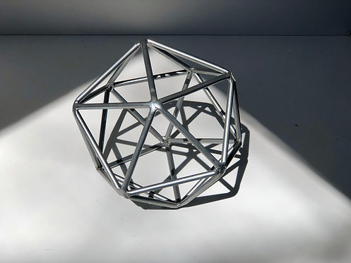 large metal geometric art