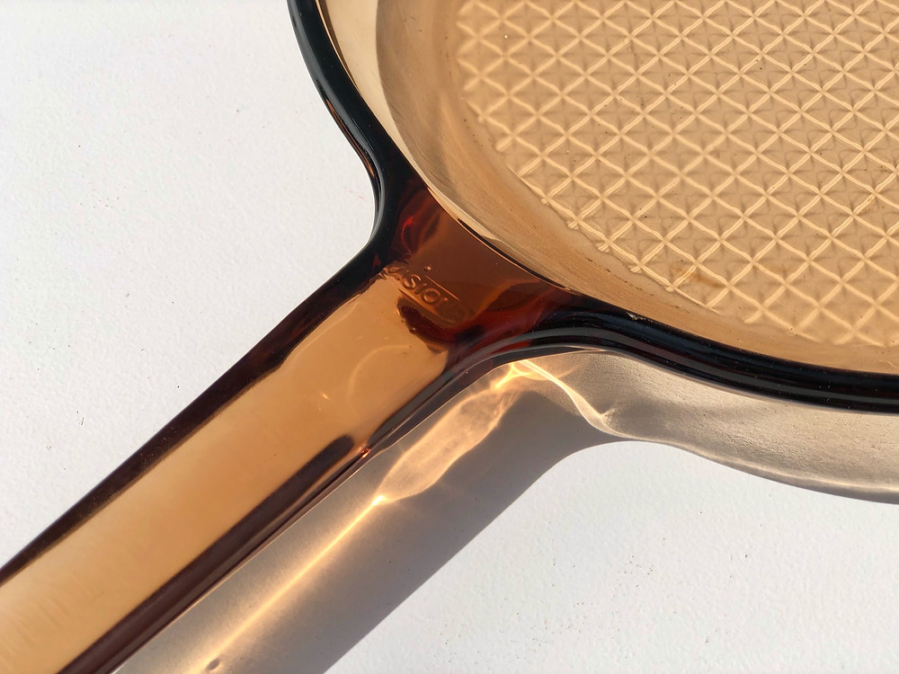 pyrex visionware skillet