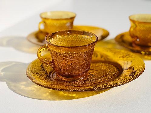 amber tiara snack set (set of 3)