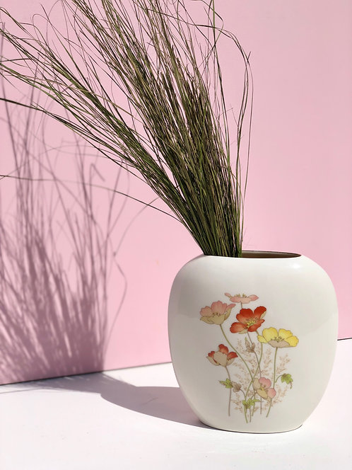 Otagiri Japanese floral vase