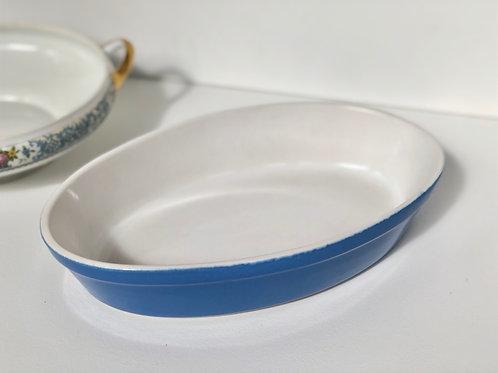 pyrex ceramic oval baking dish