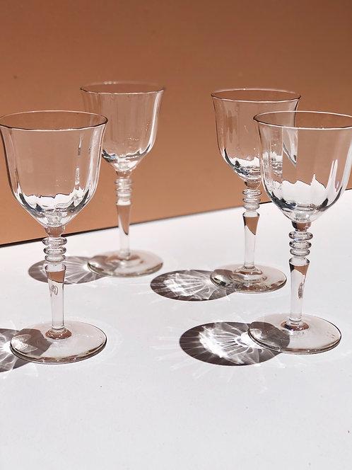 optic digestif glasses (set of 4)