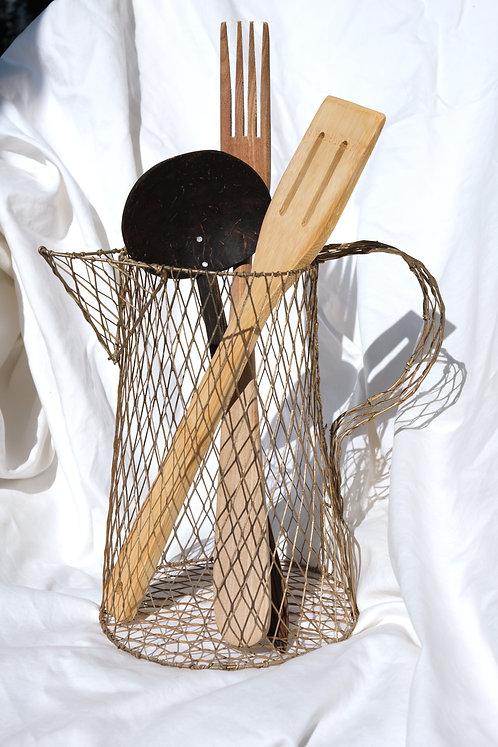 wire decorative pitcher