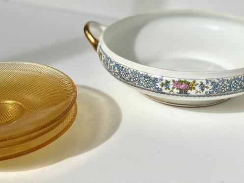 Japanese porcelain serving bowl by noritake