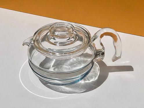 pyrex flameware teapot
