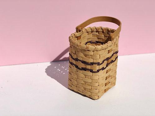 woven wine basket