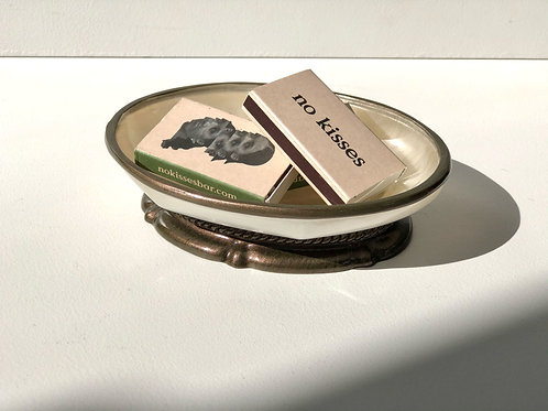 mother of pearl soap dish