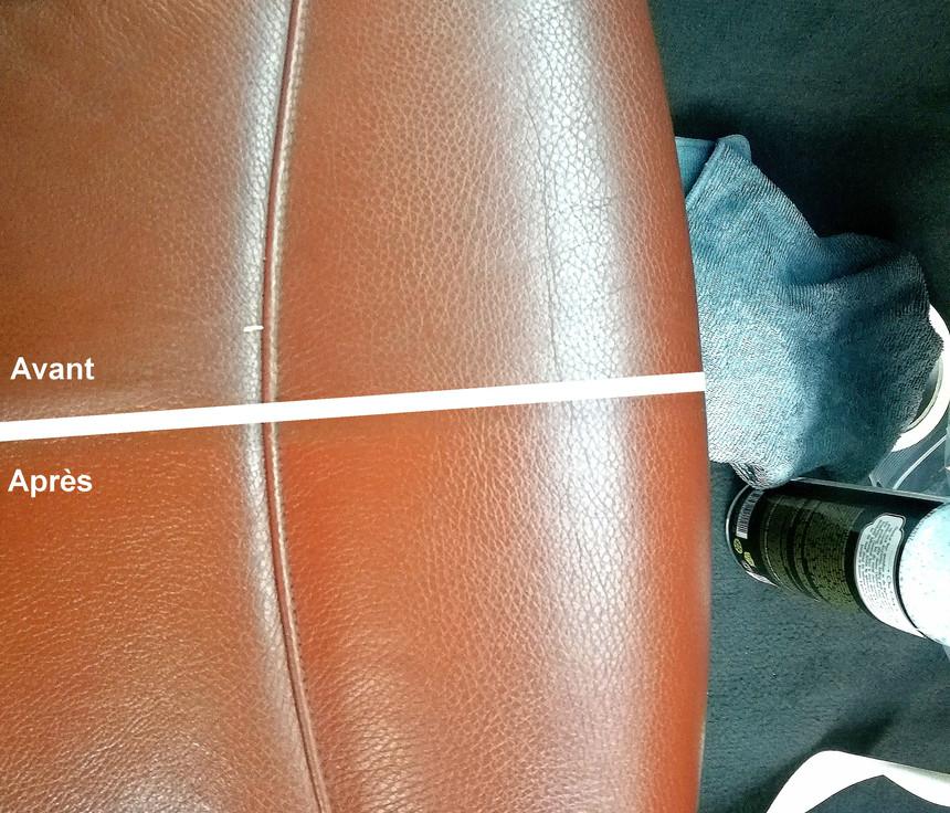 Nettoyage + Condionnement Annuelle d'un cuir d'une BMW 335d