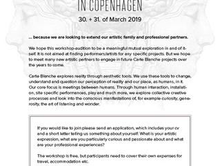 Carte Blanche inviterer til kunstner-workshop på Teaterøen