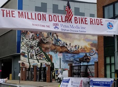 2018 Team Cure CMD - Million Dollar Bike Ride Raises $100k for Collagen VI Research
