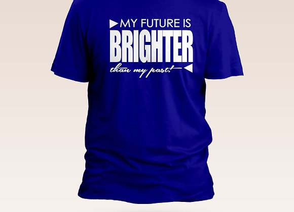 Bright Side T-Shirt with White Writing