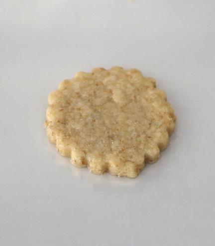 Biscotto con farina al farro e mirtillo