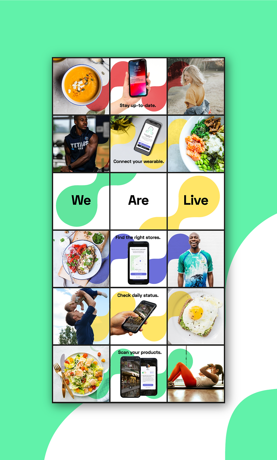 HealthyPicks instagram visuals
