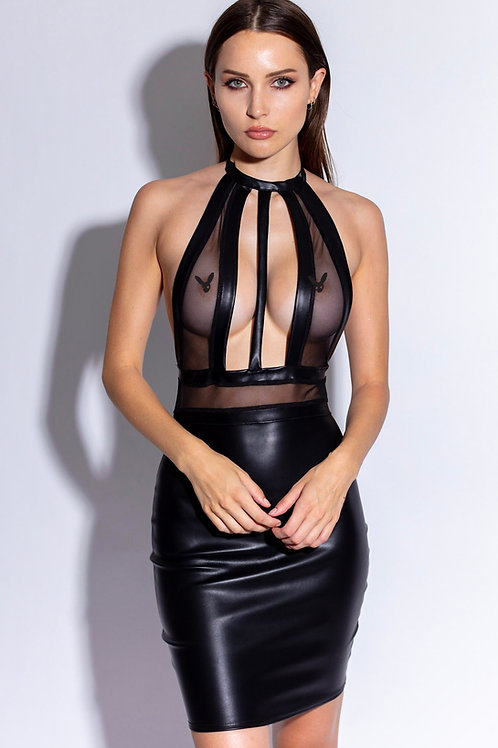 Kinky Black Dress