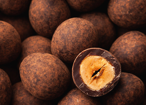 Dark Chocolate Hazelnut Dragées